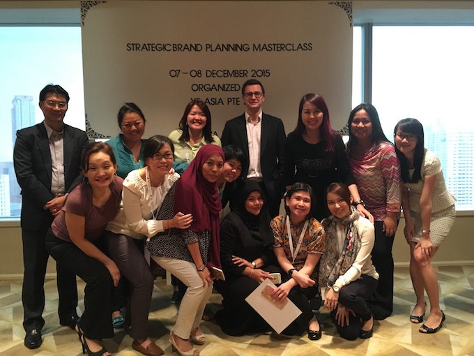 Strategic Brand Planning Masterclass; Kuala Lumpur Malaysia