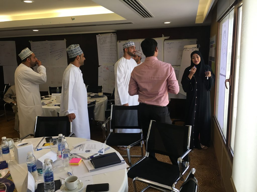 Ooredoo Oman Wavelength Marketing training