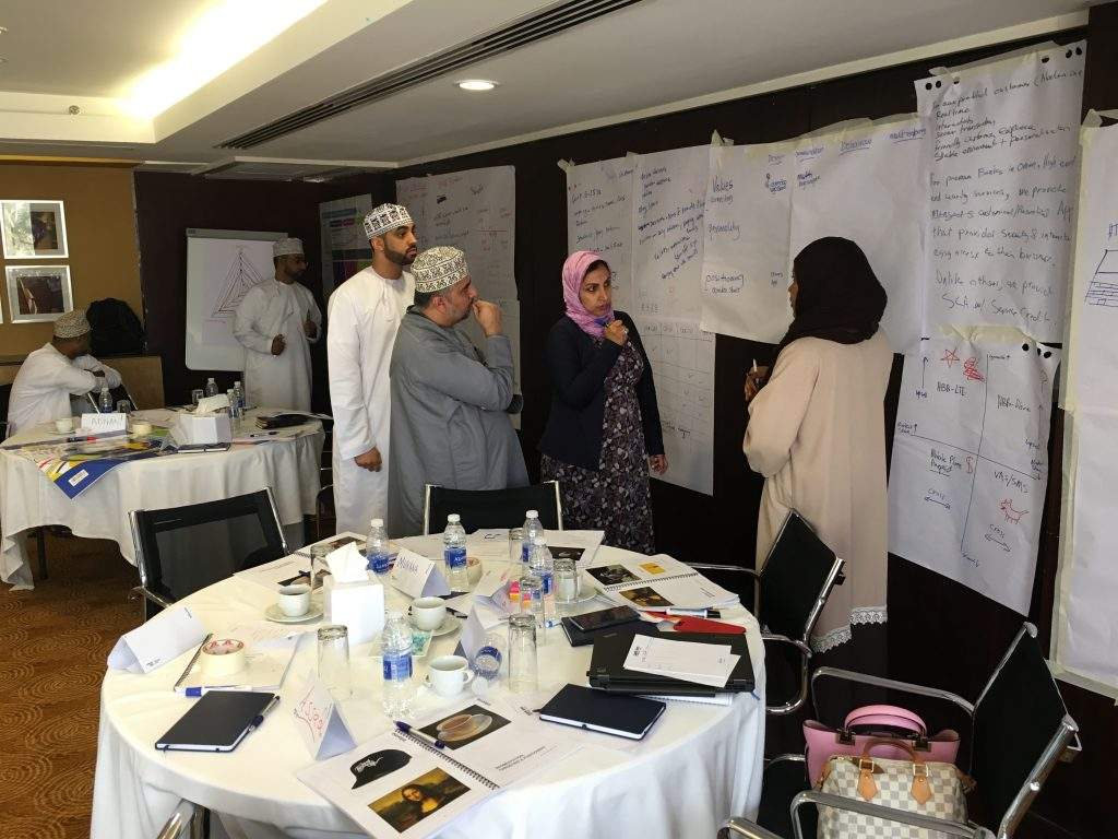 Ooredoo Oman Wavelength Marketing Corporate Training