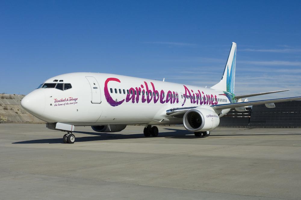 Caribbean airlines branding