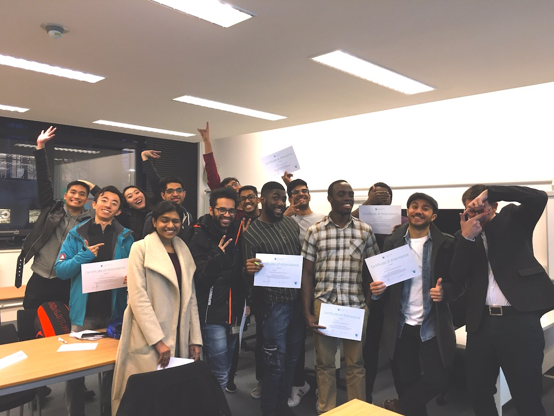Personal Branding Workshop for Students at Warwick Manufacturing Group